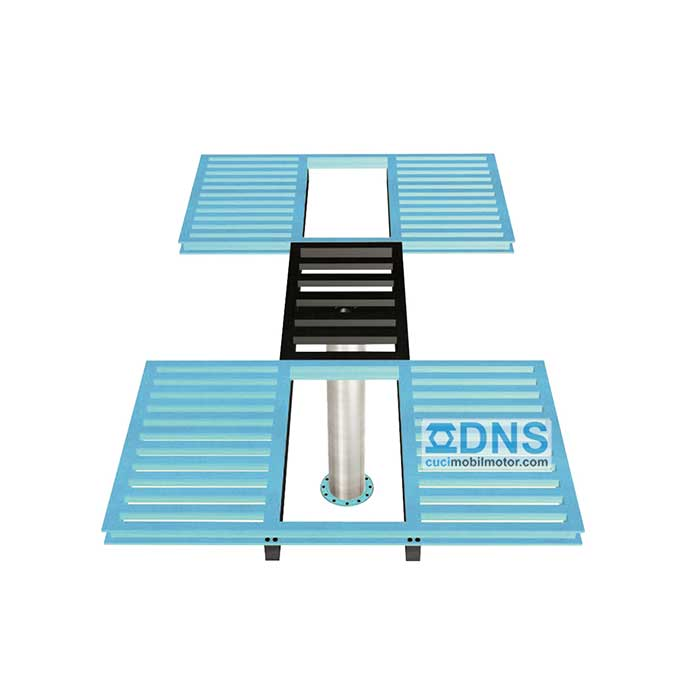 """DNS Ratio – H"" Hidrolik Mobil + Oli"