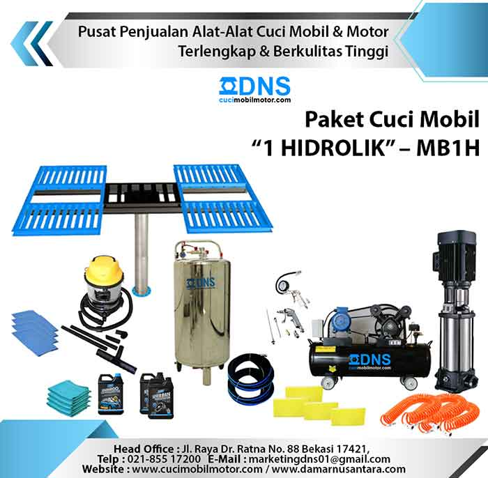 "Paket Cuci Mobil ""1 HIDROLIK"" – MB1H"