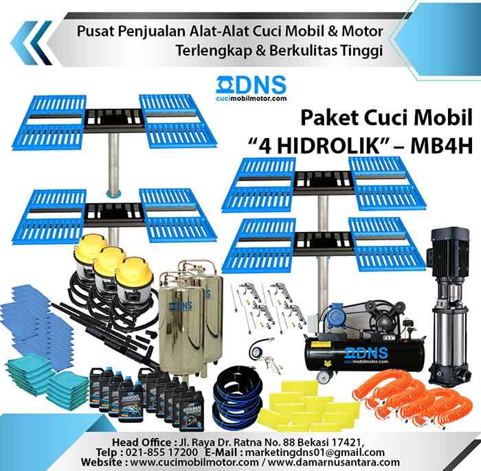 "Paket Cuci Mobil ""4 HIDROLIK"" – MB4H"