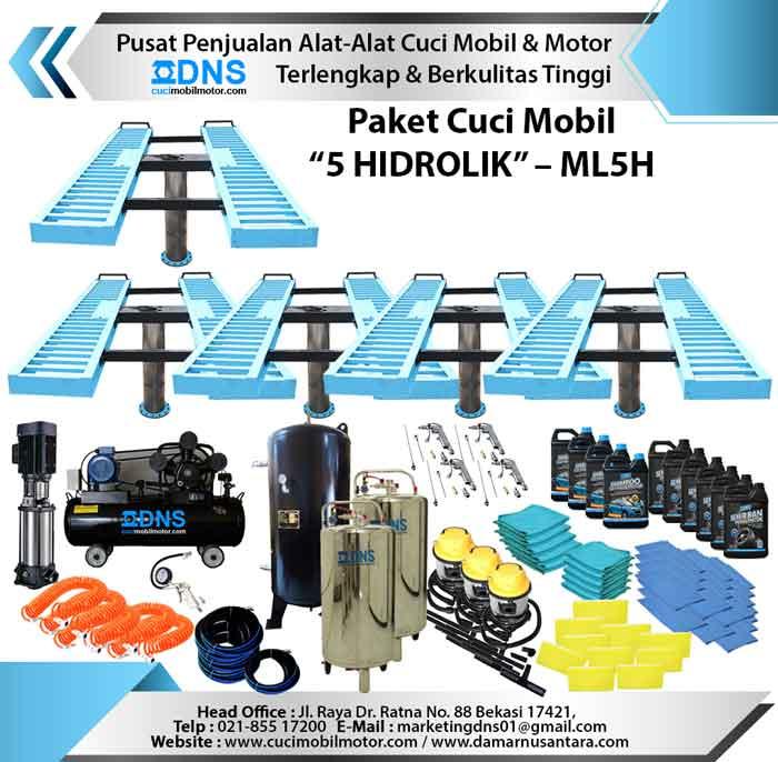 "Paket Cuci Mobil ""5 HIDROLIK"" – ML5H"