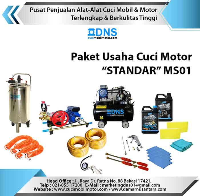 """Paket Usaha Cuci Motor """"STANDAR"""" MS01"""