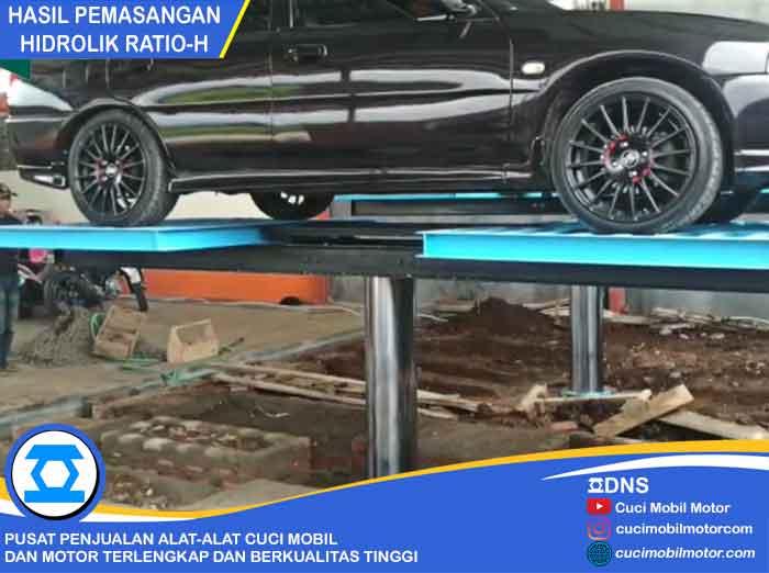 Hasil Pemasangan Hidrolik Ratio-H di Bandung