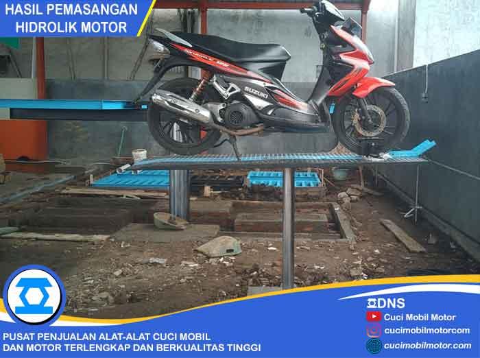 Hasil Pemasangan Hidrolik Motor di Bandung