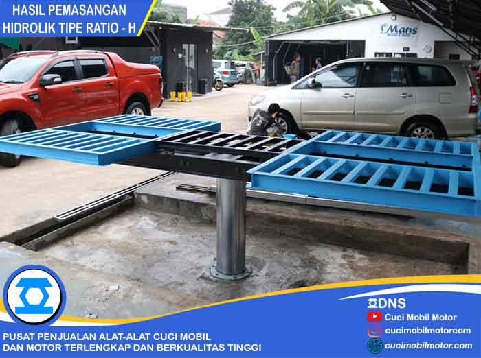 Hasil Pemasangan Hidrolik Ratio-H di Ciangsana-Bogor