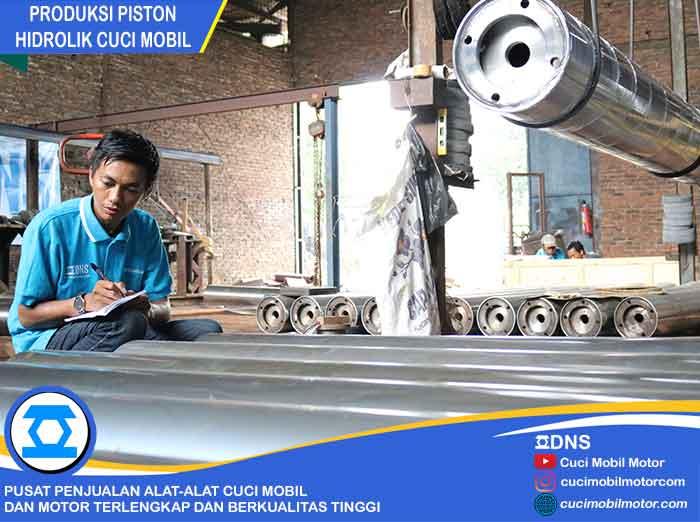 Mencatat Jumlah Produksi Piston Hidrolik