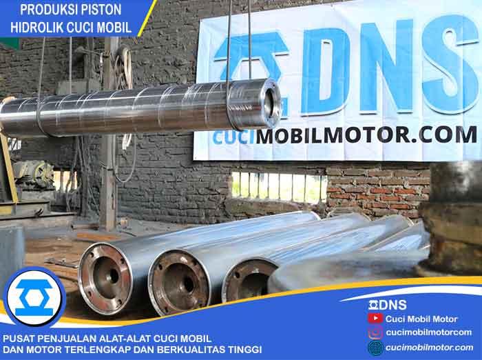 Produksi Piston Hidrolik Full Hard Chrome